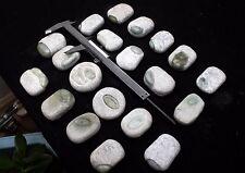 20Pcs Rare Jadeite Boulder - Rough Raw Cut Natural Form - A Tyte - Jade Specim
