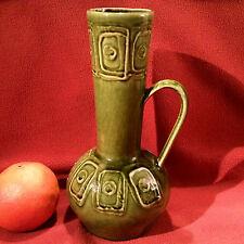 Vase Fohr Keramik, 70er Jahre Reliefdekor Form 405 20