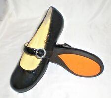 Crocs You by Crocs MJ flats black leather sz 8 Med NEW