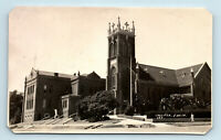 Vallejo, CA - c1930s STREET VIEW OF CHURCH - PHOTO RPPC AS-IS