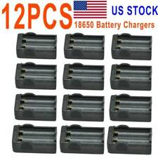 12Pc Smart Dual Slot Wall Chargers Rechargeable Battery 4.2v Wall Charger