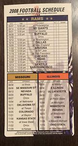 2008 St. Louis Rams (National Football League) schedule