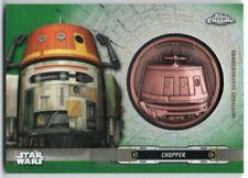 2019 Star Wars Chrome Legacy Droid Medallions Green DC-CH Chopper 20/50