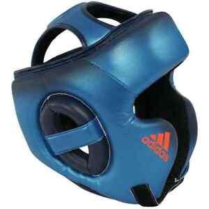 Adidas Boxing Speed Hear Gear Guard Metallic Blue Black