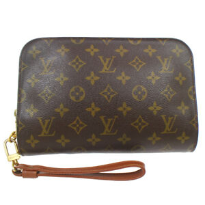 LOUIS VUITTON ORSAY CLUCTH HAND BAG PURSE MONOGRAM CANVAS AR0050 M51790 10903