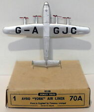 Vintage Dinky 70A - Avro York Airliner - Silver