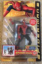 """Marvel Legends Spider Man 2 Movie 6"""" Figure Twist N' Shoot Toy Biz MIB New 2004"""