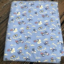 Aunt Grace Judie Rothermel Three Pigs Fabric 1 Yd Fairy Tale Wolf Cotton Flannel