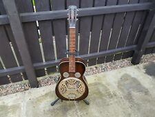 RARE REGAL DOBRO MODEL 37 DARK BROWN GUITAR