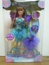 Barbie Fairytopia Glowing Fairy Jewelia Light Up Glow Doll 2005 New MIB