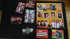 RBD REBELDE QUE HAY DETRAS DE RBD DVD + POSTERS+ALBUM FOTOS UNICO EBAY WORLDWIDE