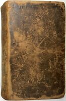 1836 UNIVERSAL TRAVELLER CHARLES GOODRICH ILLUSTRATED LEATHER 2ND EDITION RARE