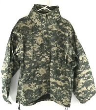 Military Extreme Cold Wet Weather Jacket, Gen III Level 6 Gore-tex ACU MEDIUM