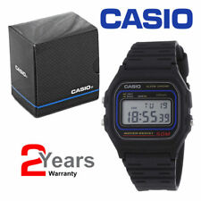 BRAND NEW CASIO W59-1V unisex  Digital Calendar Sports Black Plastic Strap Watch