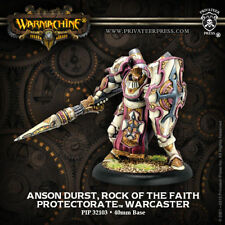 Warmachine: Protectorate of Menoth Anson Durst, Rock of the Faith PIP 32103