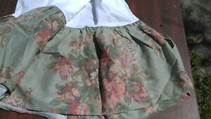 """RALPH LAUREN-Vintage """"SQUIRES PATH"""" Full Size Bedskirt -Never Used 15"""" Drop"""