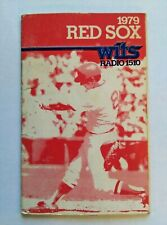 1979 Wits 1510/King's Boston Red Sox Schedule With Carl Yastrzemski No. 011956 D