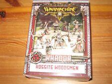 Warmachine Khador Kossite Woodsmen box