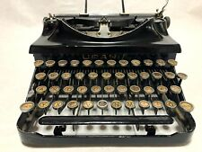 Urania German Typewriter, Rare from Germany, 1935-1940, Tested, with Original Ca