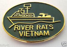 RIVER RATS VIETNAM    Military Veteran  Hat Pin 14923 HO