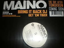 "Maino - Bring It Back DJ & Get Em Tiger- NEW 12"" VINYL"