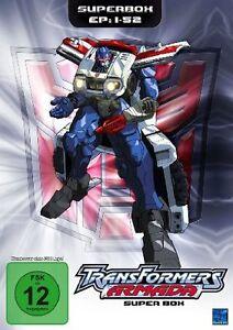 Transformers Armada -complete TV series  all 52Episodes!! -DVD Region 2 animate