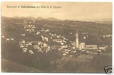 PANORAMA DI VALDOBBIADENE DA S.FLORIANO (TREVISO)