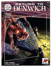 RETURN TO DUNWICH 2330 w/MAP VF! Call of Cthulhu H.P. CHAOSIUM, INC. Lovecraft