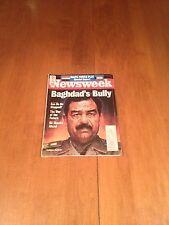Newsweek Magazine Baghdad's Bully Saddam Hussein August 13 1990 Where's Waldo