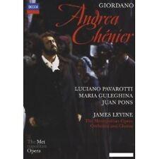 """Luciano Pavarotti """"ANDREA CHENIER"""" DVD NUOVO"""
