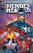 Heroes Reborn el renacimiento de la héroes #0 mega-Pack