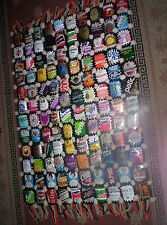 Vintage Hand Made Wall Hanging Rug Decorated by 120 Pieces of Cans