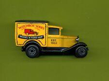 Matchbox--Ford Van--1979--Matchbox Series