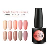 MEET ACROSS 12 Color UV&LED Nail Polish Gel Lacquer Soak Off Manicure Varnish