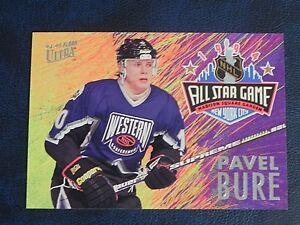 1994-95 94/95 Fleer Ultra All Star Game #7 Pavel Bure Vancouver Canucks