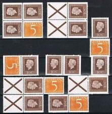 Alle combinaties uit PB17 (11 stuks) Postfris MNH