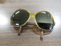 American Optical Women's Unisex Sunglasses Ovalish Shape Tortoise