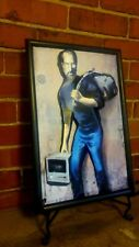 Banksy Steve Jobs  Refugee Immigrant Syrian Graffiti Art Poster in 3-D 11x17