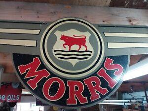 Original Morris rare Sign