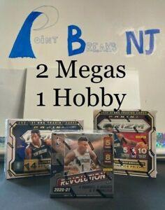 Sacramento Kings  2020-21 Prizm Basketball & Hobby Revolution Box Break #6