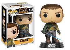 "Star Wars Rebeldes Kanan 3.75"" Vinilo Pop Figura Funko 132 totalmente nuevo vendedor de Reino Unido"