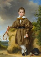 """high quality oil painting handpainted on canvas """"Portrait of a boy """""""