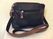 a MILLENI leather crossbody bag