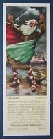 Shakespeare   King Lear     Superb 1930's Vintage Colour Card