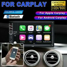 7.0 inch  Double Din Car Stereo Radio for Apple/Android Carplay FM MP5 Player US