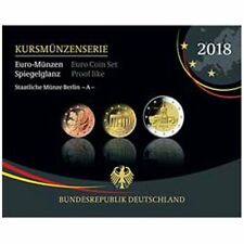 2018 Germany 9-Coin Euro Proof PP Coin Set Berlin Mint A