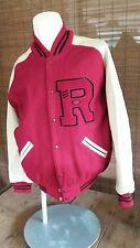 "Vintage Classic Varsity Bomber Letterman ""R"" Jacket"