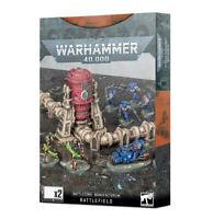 Warhammer 40k Battlezone Manufactorum Battlefield - Scifi Terrain THG