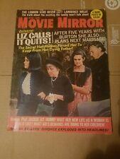 MOVIE MIRROR March 1969 Vol.13 No5.Jakie Onasis Liz Taylor Lawrence Welk
