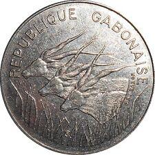 Central African States BEAC Gabon 100 Francs 1985 KM#12 (4328) nice garde